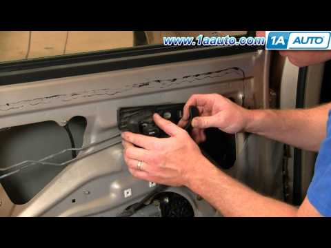 How To Install Replace Rear Inside Door Handle Chevy Malibu 97-03 1AAuto.com
