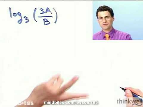 College Algebra: Expanding a Logarithmic Expression
