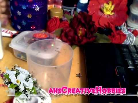 Plastic Container Simple decoration