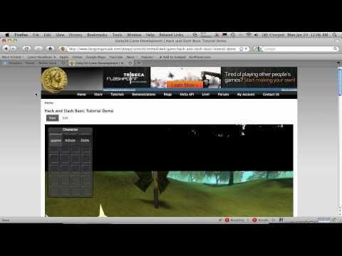 Dropbox To Web Player Tutorial