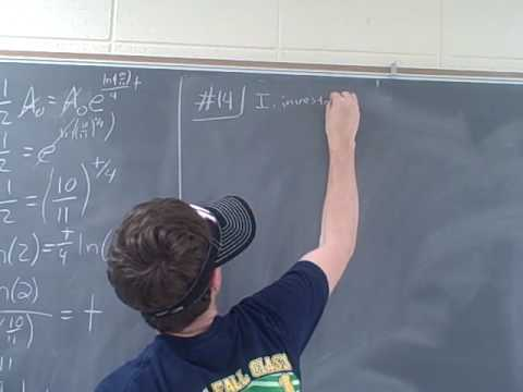 Ma 112 Precalculus Problems Section 5.4 # 2, 6
