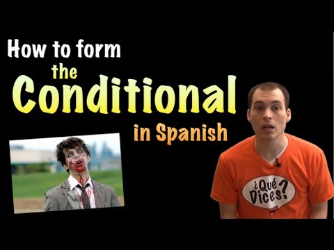 03 Spanish Lesson - Conditional Tense