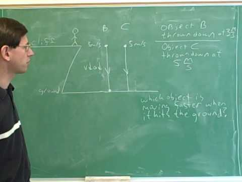 One-dimensional projectile motion (19)