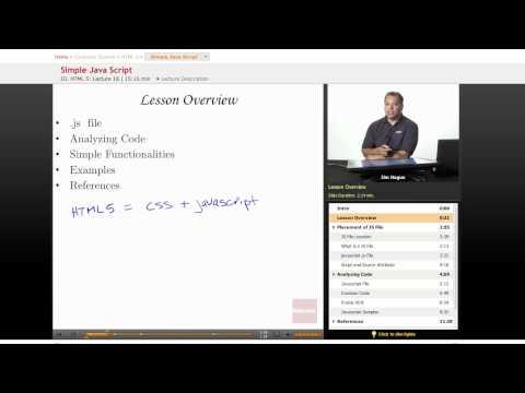 HTML 5: Simple Java Script