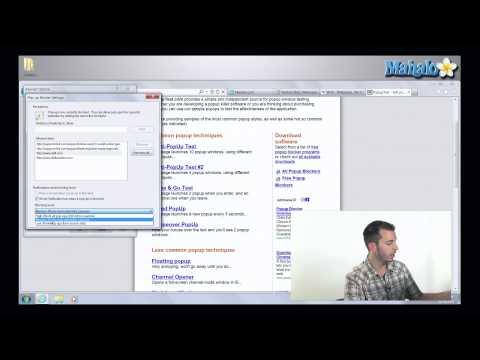 How to Use Popup Blocker in Internet Explorer