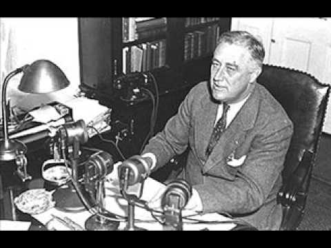 FDR fireside chat 1935 Part I