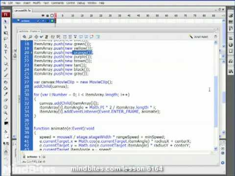 ActionScript 3 Animation 25: Clickable Carousels
