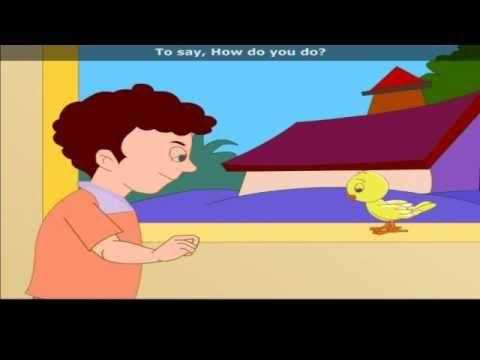 Once l Saw A Little Bird with Lyrics - Nursery Rhyme
