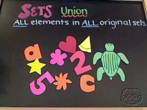 Guaranteach Math Tutorial: The Union of Sets