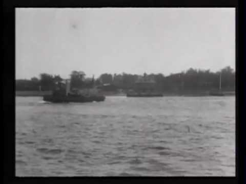 "Fireboat ""New Yorker"" in action--excerpts"
