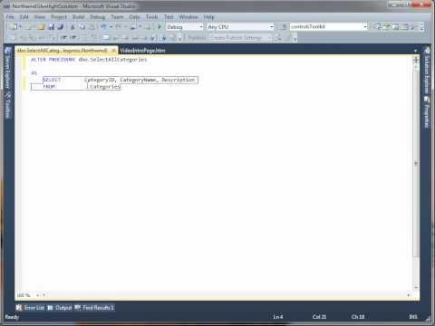 Server Explorer Demo
