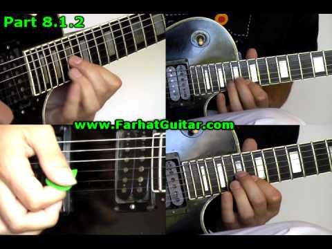 Master of Puppets Metallica 8.1.2 www.FarhatGuitar.com