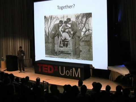 TEDxUofM - Steve Rush - Mommy, where do ideas come from?