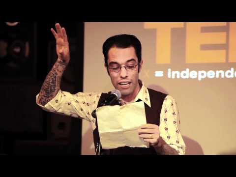 TEDxEast - Geoff Trenchard - New York Inspired Poetry