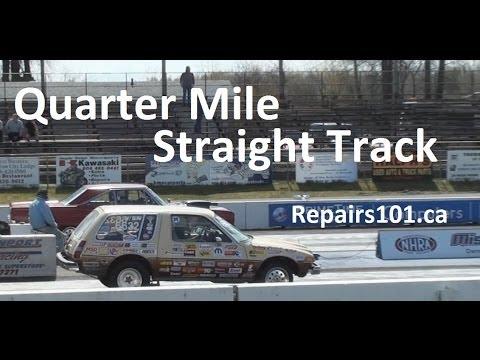 Quarter Mile Straight Track