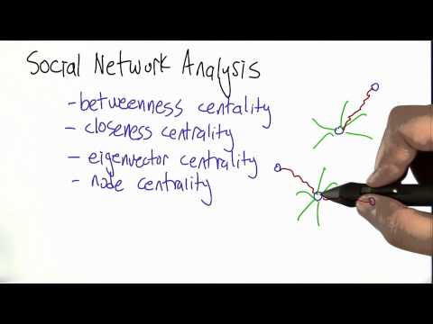 Types of Centrality - Algorithms - Statistics - Udacity