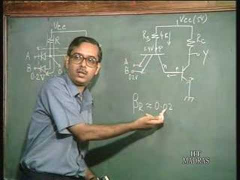 Lecture - 8 Qualitative discussion on TTL Circuits