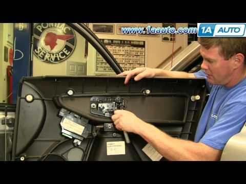 How To Install Replace Front Inside Door Handle Volvo XC90 03-12 1AAuto.com