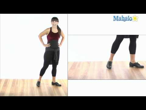 How to Do a 3 Count Riff Walk (Slams) in Tap Dance