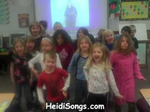 HeidiSongs Video Contest Winners - January 2010