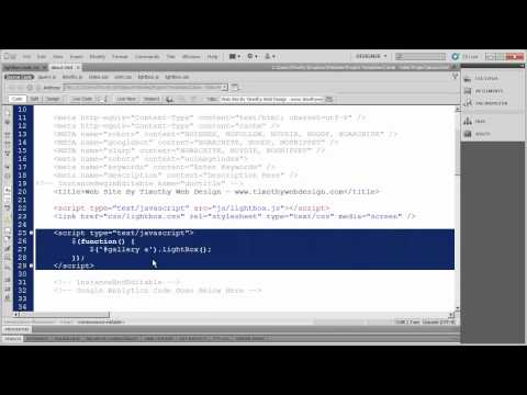 41 - Introduction to Dreamweaver