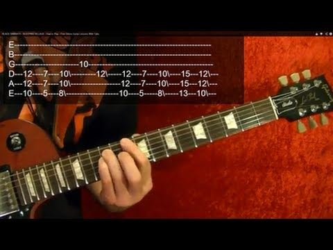 MASTER OF PUPPETS ( Guitar Lesson 1 of 9) by METALLICA With Tabs
