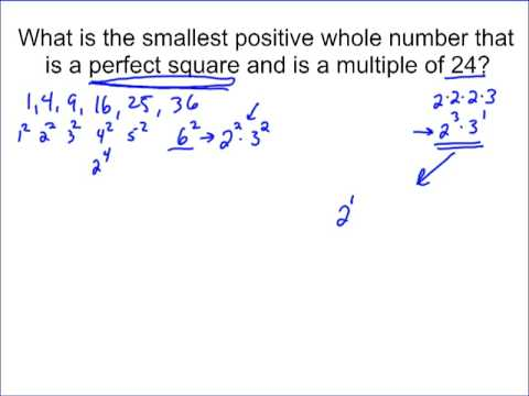 Perfect Squares and Multiples