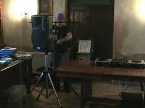Mobile Disco set up, part 1, Setting up the Lighting.