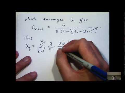 Fourier series & differential equations