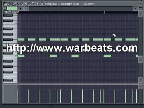FL Studio - Groove Templates - Warbeats Tutorial