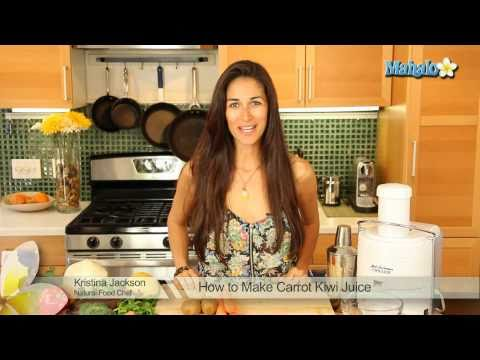 How to Make Carrot Kiwi Juice