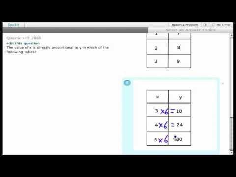 Grockit SAT Math - Multiple Choice: Question 2866