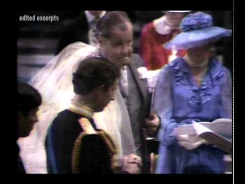 The Royal Wedding, July 29, 1981