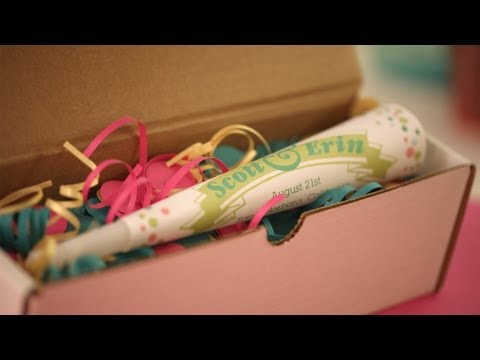 Party Horn: How to Make || KIN DIY