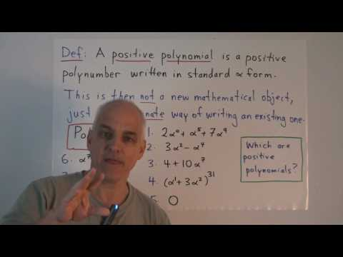 MF60: What exactly is a polynomial?
