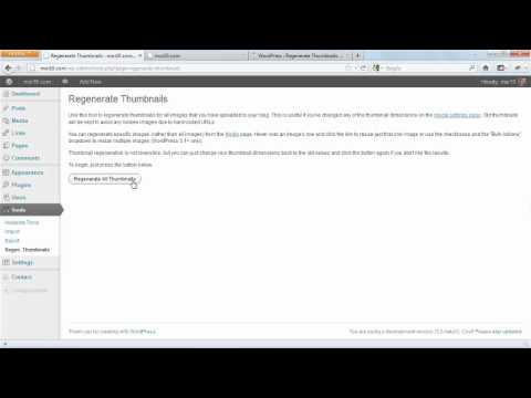 How to use the Regenerate Thumbnails plugin | lynda.com tutorial