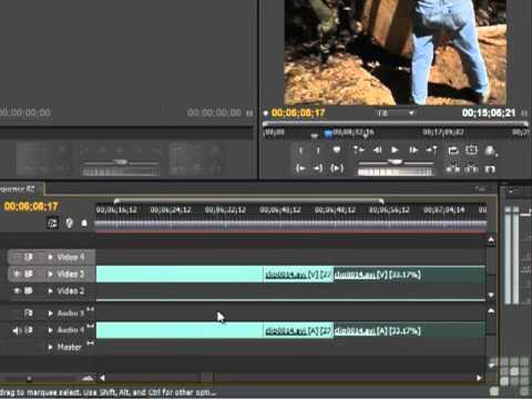 Premiere CS5 - Rate Stretch Tool - Tutorial