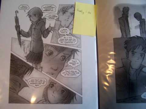 More Miki Falls Pages (And More Mio Crilley!)