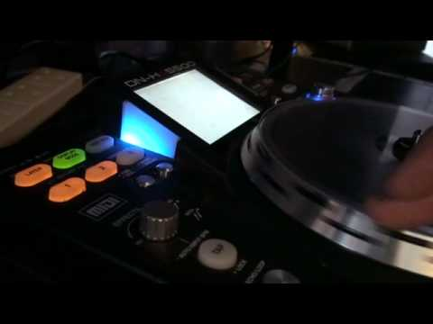 Denon DN-HS5500, how to set FWR , BOTH.... for scratching purposes.wmv