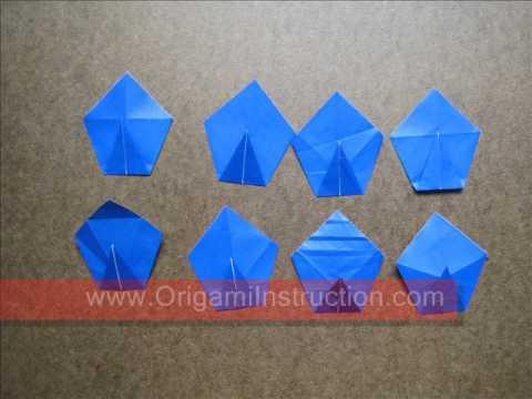How to Fold Origami Tea Bag Modular Flower - OrigamiInstruction.com