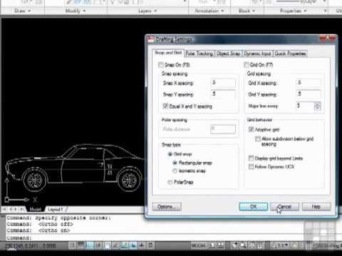 Beginners AutoCAD Tutorial - Understanding the Status Bar