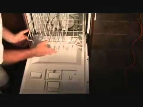How to fix a dishwasher pull out tray