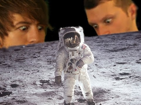 The Moon: YouTube Space Lab With Liam & Brad