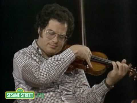 Sesame Street: Itzhak Perlman Talks About Easy and Hard