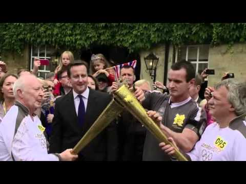 Olympic Torch Relay Day 52 Highlights - London 2012