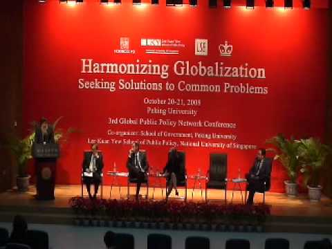 Harmonizing Globalization - Seeking Solutions to Common Problems: Day One  - Pt 4