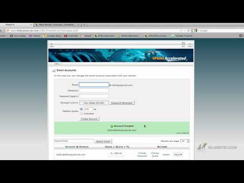 CPANEL BASICS - Setting up Email and Forwarding