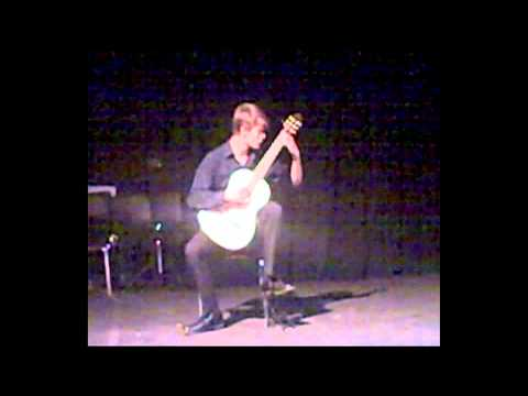 Erik Gude performs Etude No. 8 by Giulio Regondi (Guitar)
