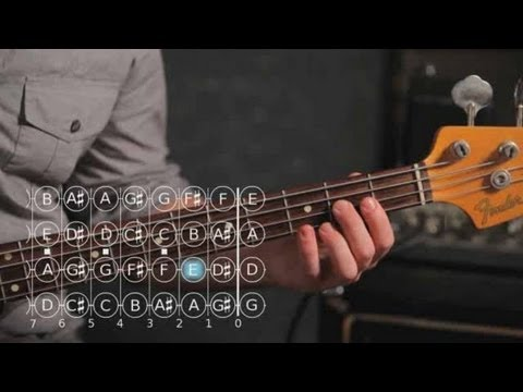 Bass Chords: How to Play an A Minor Triad