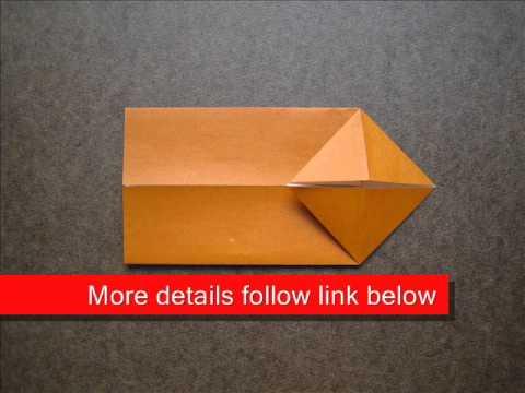 How to Fold Origami Chopstick Wrapper - OrigamiInstruction.com